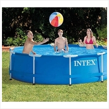 [FromUSA]Intex 10 Foot x 30 Inch Round Metal Frame