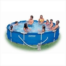 [FromUSA]Intex 12-Foot by 30-Inch Metal Frame Pool Set