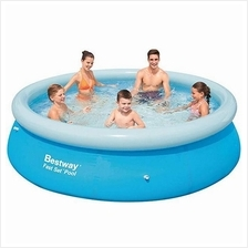 [FromUSA]Bestway 57307 10'X30 Fast Set Pool 10-Feet by 30-inch Blue