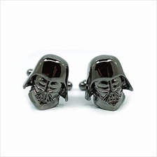[From USA]Teri's Boutique Men's Jewelry Star Wars Darth Vader Head Dark Gray G