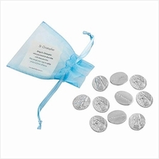 [From USA]DANFORTH - Vilmain Saint Christopher Pocket Tokens - Bag of 10 Pocke