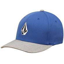 [From USA]Volcom Men's Full Stone Xfit Flex Fit Hat (Coastal Blue)