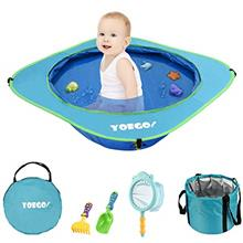 [FromUSA]Yoego Kiddie Pool Portable Baby Beach Swimming Pool Toddler