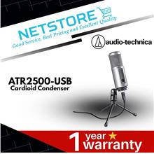 AUDIO-TECHNICA ATR2500-USB Cardioid Condenser USB Streaming Microphone