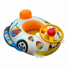 [FromUSA]EnjoySweat Inflatable Baby Float Seat Boat Toys with