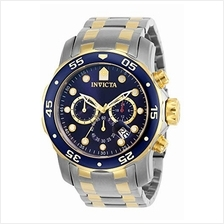 [From USA]Invicta Men's 0077 Pro Diver Chronograph Blue Dial Watch