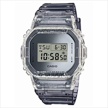 [From USA]Men's Casio G-Shock Digital Skeleton Clear Gray Resin Watch DW5600SK