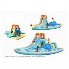 [FromUSA]Bounceland Inflatable Cascade Water Slide with Large Pool