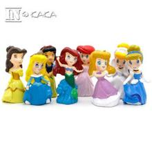 Princess Display Figurine/Figure Toy 8 pcs set