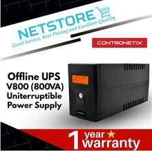 Contronetix Offline UPS V800 (800VA) AVR Uninterruptible Power Supply