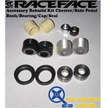 RACEFACE Accessory Rebuild Kit Chester/RidePedal Bush/Bearing/Cap/Seal