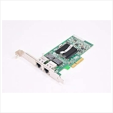 Dell X3959 Intel Pro/1000 PT RJ-45 Dual Port Server Adapter PCIe Netw