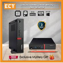 (Refurbished) Lenovo ThinkCentre M910Q Mini Desktop (i5-6500T 3.10GHz,500GB,8G