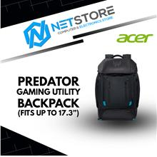"ACER PREDATOR GAMING UTILITY BACKPACK (FITS UP TO 17.3"") For Pro Gam"