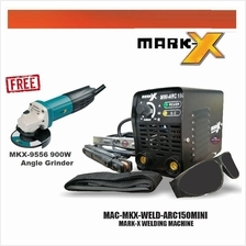 "Mark-x welding Machine ARC 150 with Free 4 ""/100mm Angle Grinder"
