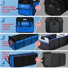[From USA]BOVN Cargo Storage Collapsible Car Trunk Organizer