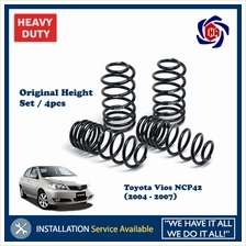 Toyota Vios NCP42 (2004 - 2007) Original Height Coil Spring (set / 4pc