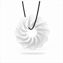 Tomfeel 3D Printed Jewelry Rhythm Elegant Modeling Pendant Jewelry Necklace Ac