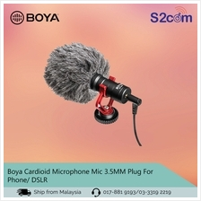 Boya Cardioid Microphone Mic 3.5MM Plug For Phone/ DSLR (BY-MM1)