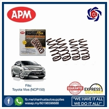 Toyota Vios NCP150 APM Performax Sport Lowered Coil Springs Suspension