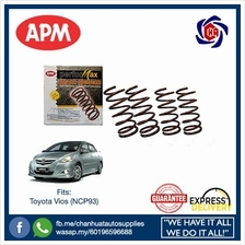 Toyota Vios NCP93 APM Performax Sport Lowered Coil Springs Suspension