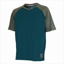 EXTREMA BIG SIZE V-NECK SHORT SLEEVE TEE (EXBT-07B) GREEN EX1048