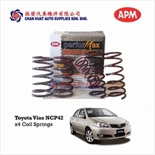 Toyota Vios NCP42 2003~2007 APM Performax Coil Springs (Set of 4pcs)