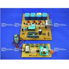 HT383 RF Module 4 Relay(Toggle On Off) / Electronics DIY Hobby Kit Set