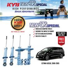 KYB New SR Special High Performance Shock Absorber Toyota Estima ACR30