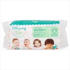 Offspring Trial Pack - Fashion Diapers L6 + Wipes 20s)