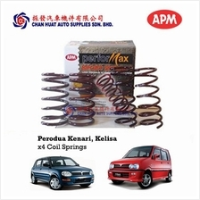 Perodua Kelisa Kenari APM Performax Sport Lowered Coil Springs (4pcs)