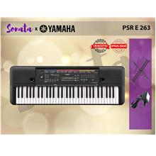 YAMAHA PSR- E 263 61-key portable keyboard