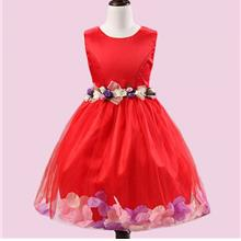 Cute Princess Big Petals Girls Dresses
