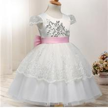 Cute Princess Dress Sequins Embroidery Girls Dresses