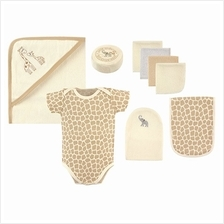 Hudson Baby Bath Time Gift Box Set - Khakis Giraffe 58127