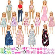 [Good Choice]SOTOGO Doll Clothes Set Fit for Barbie Dolls Include 13 Pack Clot