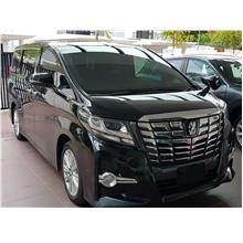Luxury Alphard MPV Car Rental and Airport Transfer