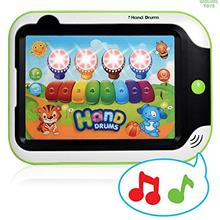 [Good Choice]WolVol Kids Drum and Piano Musical Tablet - Durable Plastic with