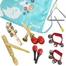 [Good Choice]KF baby kilofly Kids Mini Band Musical Instruments Rhythm Toys Va