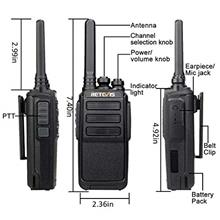 [From USA]Retevis RT28 Walkie Talkies Rechargeable Long Range VOX Hand Free FR