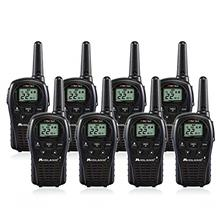 [From USA]Midland LXT500VP3 2 Way Radio 8 PACK Plus Rechargeable Batteries and