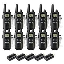 [From USA]Retevis RT41 Walkie Talkie Rechargeable FRS VOX Roger Beep LCD 10 Ca