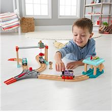 [Good Choice]Fisher-Price Thomas & Friends Wood Lift & Load Cargo Se