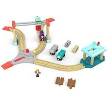 [Good Choice]Thomas & Friends Fisher-Price Wood Lift & Load Cargo Se