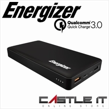 ENERGIZER UE15002CQ 15000MAH 2-IN 1-OUT QC3.0 +1-OUT 2A Power Bank BLA