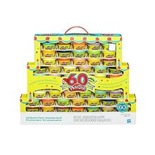 [Good Choice]Play-Doh 60th Anniversary Celebration Pack (60 Cans)