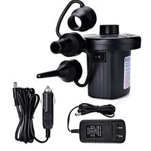 [From USA]perfact Electric Air Pump Portable Multi-Use Pump with 3 Nozzles Qui