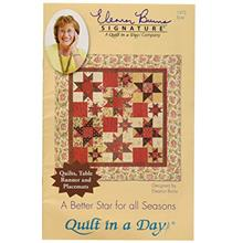 [From USA]Quilt In A Day EB-1272 Eleanor Burns Pattern Better Star for All Sea