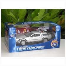 Welly 1/24 MOVIE Car Delorean Time Machine Back To The Future II