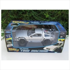 Welly 1/24 MOVIE Car Delorean Time Machine Back To The Future Flying